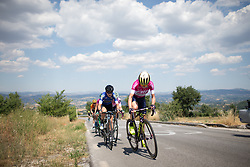 Annemiek van Vleuten (NED) of Orica Scott Cycling Team leads the chase up on the climb to Montemiletto during Stage 7 of the Giro Rosa - a 141.9 km road race, between Isernia and Baronissi on July 6, 2017, in Isernia, Italy. (Photo by Balint Hamvas/Velofocus.com)