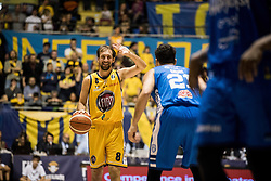 January 21, 2018 - Turin, Piedmont/Turin, Italy - Giuseppe Poeta (Fiat Torino Auxilium) during the Serie A an Basketball Match. FIat Torino Auxilium vs Happy Casa Brindisi. Happy Casa Brindisi won 68-82 in Turin at Pala Ruffini, Italy 21st January 2018. (Credit Image: © Alberto Gandolfo/Pacific Press via ZUMA Wire)