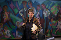 DEU, Deutschland, Germany, Berlin,31.01.2018: Bundesumweltministerin Dr. Barbara Hendricks (SPD) vor Beginn der 169. Kabinettsitzung im Bundeskanzleramt.