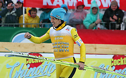 23.03.2014, Planica, Ratece, SLO, FIS Weltcup Ski Sprung, Planica, Siegerehrung, Skifliegen, Gesamtwertung, im Bild NORIAKI KASAI 2. Platz Gesamtwertung / on podium of overall mens FIS Ski flying Worldcup Cup at Planica in Ratece, Slovenia on 2014/03/23. EXPA Pictures © 2014, PhotoCredit: EXPA/ Newspix/ Katarzyna Woloszczak<br /> <br /> *****ATTENTION - for AUT, SLO, CRO, SRB, BIH, MAZ, TUR, SUI, SWE only*****