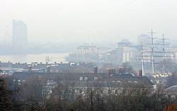 © Licensed to London News Pictures. 06/12/2016<br /> No view of London from Greenwich Park, only the masts of the Cutty Sark.<br /> A foggy afternoon at Greenwich Park,Greenwich,London.<br /> Photo credit :Grant Falvey/LNP