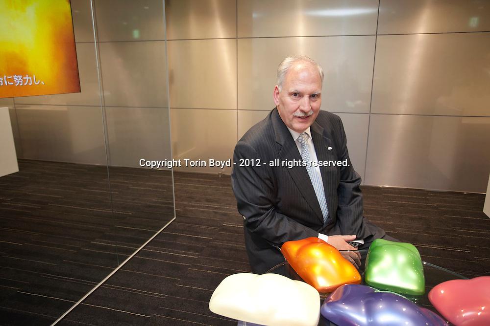 Dr  Karl Roeser President and Chariman of Merck Ltd , Japan   Torin Boyd