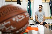 Spogliatoi Trento, DOLOMITI ENERGIA TRENTINO vs EA7 EMPORIO ARMANI OLIMPIA MILANO, gara 4 Finale Play off Lega Basket Serie A 2017/2018, PalaTrento Trento 11 giugno 2018 - FOTO: Bertani/Ciamillo