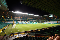 A general view of Celtic Park before the Scottish Premiership match between Celtic and Partick Thistle.