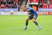 Bury's Chris Hussey during the Sky Bet League 1 match between Walsall and Bury at the Banks's Stadium, Walsall, England on 5 September 2015. Photo by Shane Healey.