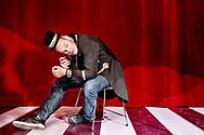 Andreas Bo, skuespiller og komiker - fotograferet i Glassalen i Tivoli i forbindelse med forestillingen Dirch.