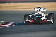 February 21, 2012: Formula One Testing, Circuit de Catalunya, Barcelona, Spain. Sergio Perez, Sauber-Ferrari C31