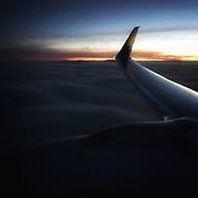 30,000 feet over Washington State