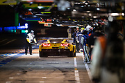 June 10-16, 2019: 24 hours of Le Mans. 63 CORVETTE RACING, CHEVROLET CORVETTE C7.R, Jan MAGNUSSEN,  Antonio GARCIA, Mike ROCKENFELLER
