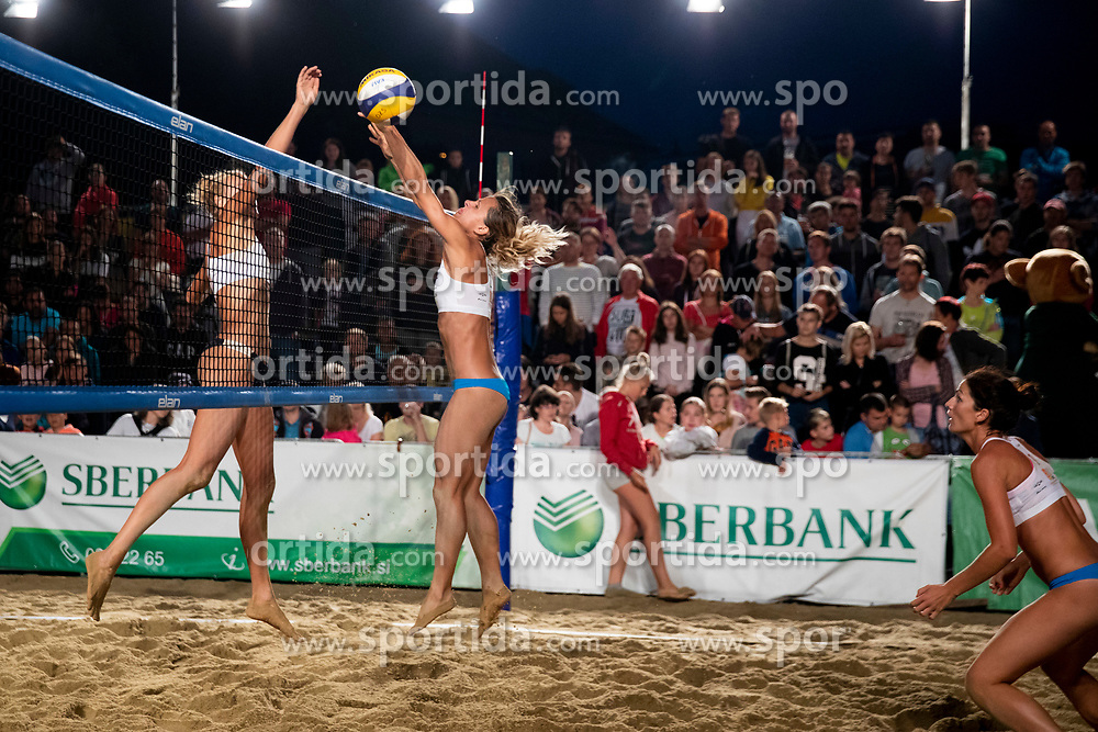 Tjasa Kotnik during Final of Beach Volleyball Slovenian National Championship 2018, on July 21, 2018 in Kranj, Slovenia. Photo by Urban Urbanc / Sportida