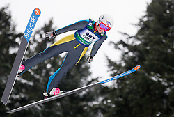 Sarah Hendrickson of USA during Normal Hill Individual Competition at FIS World Cup Ski jumping Ladies Ljubno 2012, on February 11, 2012 in Ljubno ob Savinji, Slovenia. (Photo By Vid Ponikvar / Sportida.com)