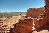 View from the Wukoki Pueblo Ruins - Wupatki National Monument, AZ
