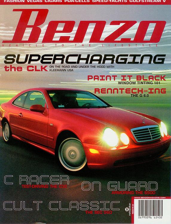 Magazine Cover - Benzo Mercedes CL