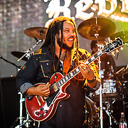 Stephen Marley performs during Merryland Music Festival at Merriweather Post Pavilion in Columbia, MD on July 9, 2016 (Photo by Richie Downs).