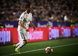 February 24, 2019 - Valencia, Valencia, Spain - Lucas Vazquez of Real Madrid during the La Liga match between Levante and Real Madrid at Estadio Ciutat de Valencia on February 24, 2019 in Valencia, Spain. (Credit Image: © Maria Jose Segovia/NurPhoto via ZUMA Press)