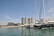 Israel, Herzliya, Yachts in the Marina