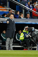 04.12.2012 SPAIN -  Champions League 12/13 Matchday 6th  match played between Real Madrid CF vs AFC Ajax (4-1) at Santiago Bernabeu stadium. The picture show Frank De Boer