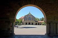 Memorial Church at Stanford University, Stanford, California, USA. The building was funded by Jane Lathrop Stanford in memory of her husband, Leland Stanford. 201305022318<br /> <br /> Copyright Image from Victor Patterson, 54 Dorchester Park, Belfast, UK, BT9 6RJ<br /> <br /> Tel: +44 28 9066 1296<br /> Mob: +44 7802 353836<br /> Voicemail +44 20 8816 7153<br /> Skype: victorpattersonbelfast<br /> Email: victorpatterson@me.com<br /> Email: victorpatterson@ireland.com (back-up)<br /> <br /> IMPORTANT: If you wish to use this image or any other of my images please go to www.victorpatterson.com and click on the Terms & Conditions. Then contact me by email or phone with the reference number(s) of the image(s) concerned.