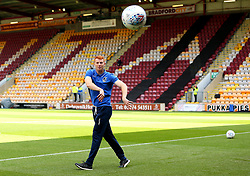 Rory Gaffney of Bristol Rovers arrives at The Northern Commercials Stadium (Valley Parade), home of Bradford City - Mandatory by-line: Robbie Stephenson/JMP - 02/09/2017 - FOOTBALL - Northern Commercials Stadium - Bradford, England - Bradford City v Bristol Rovers - Sky Bet League One