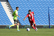 Ever Banega of Sevilla during the Pre-Season Friendly match between Brighton and Hove Albion and Sevilla at the American Express Community Stadium, Brighton and Hove, England on 2 August 2015. Photo by Stuart Butcher.