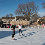 Lauren Farr & Neill Shelton perform with Ice Dance International at Strawbery Banke, Portsmouth NH on Jan 14, 2017