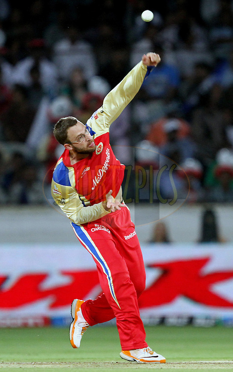 Danial Vetory during match 11 of the Indian Premier League ( IPL ) between the Deccan Chargers and the Royal Challengers Bangalore held at the Rajiv Gandhi International Cricket Stadium in Hyderabad on the 14th April 2011..Photo by Prashant Bhoot/BCCI/SPORTZPICS.
