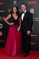 Tasma Walton and Rove McManus at The 2018 Australian Academy of Cinema and Television Arts (AACTA) Awards at The Star in Sydney, Australia