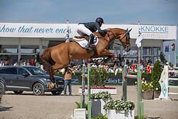 Clayton Joseph, GBR, Franka Trichta<br /> Grand Prix Henders & Hazel <br /> CSI2* Knokke 2019<br /> © Hippo Foto - Dirk Caremans<br /> Clayton Joseph, GBR, Franka Trichta
