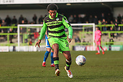 Forest Green Rovers Reuben Reid(26) on the ball during the EFL Sky Bet League 2 match between Forest Green Rovers and Notts County at the New Lawn, Forest Green, United Kingdom on 10 March 2018. Picture by Shane Healey.