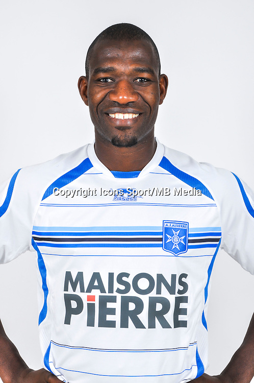 Adama COULIBALY  - 18.09.2013 - Photo Officielle - Auxerre -<br /> Photo : Icon Sport