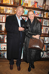 SIR TERENCE & LADY CONRAN at a party to celebrate the publication of The New English Table by Rose Prince held at The Daunt Bookshop, Marylebone High Street, London on 9th April 2007.<br />