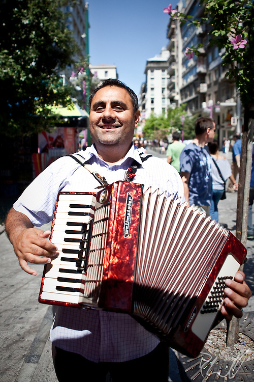 Athens Accordianist