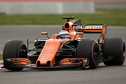 March 10, 2017 - Barcelona, Barcelona, Spain - Fernando Alonso of Spain driving the (14) McLaren Honda Formula 1 Team McLaren MCL32 in action during the Formula One winter testing at Circuit de Catalunya on March 10, 2017 in Montmelo, Spain. (Credit Image: © Dpi/NurPhoto via ZUMA Press)
