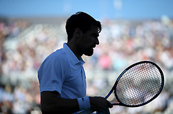 Jeremy Chardy during day five of the Fever-Tree Championship at the Queen's Club, London.