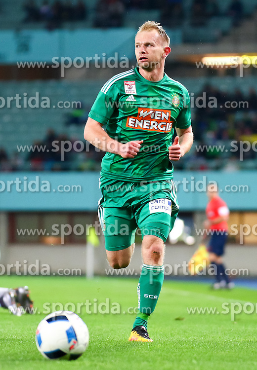 12.03.2016, Ernst Happel Stadion, Wien, AUT, 1. FBL, SK Rapid Wien vs FC Admira Wacker Mödling, 27. Runde, im Bild Mario Sonnleitner (SK Rapid Wien)// during Austrian Football Bundesliga 27th round match between SK Rapid Vienna and FC Admira Wacker Mödling at the Ernst Happel Stadion, Vienna, Austria on 2016/03/12, EXPA Pictures © 2016, PhotoCredit: EXPA/ Sebastian Pucher