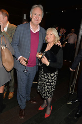 NIGEL PLANER and ROBERTA PLANER at the West End opening night of 'Great Britain' a  play by Richard Bean held at The Theatre Royal, Haymarket, London followed by a post show party at Mint Leaf, Suffolk Place, London on 26th September 2014.