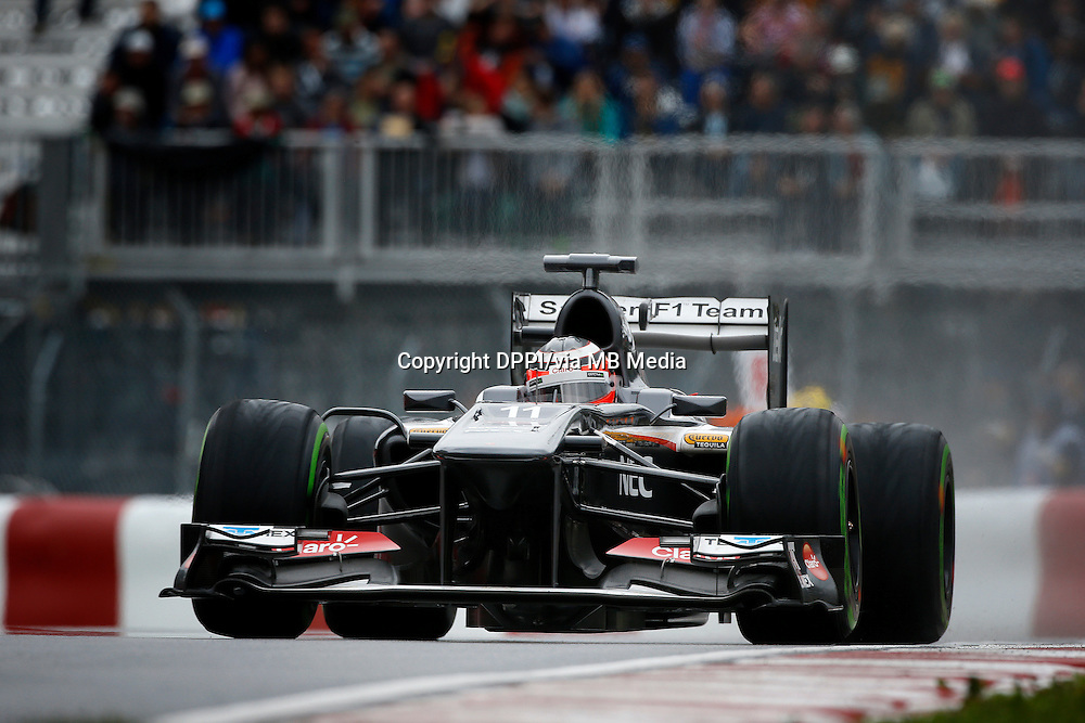 MOTORSPORT - F1 2013 - GRAND PRIX OF CANADA - MONTREAL (CAN) - 07 TO 09/06/2013 - PHOTO FRANCOIS FLAMAND / DPPI - HULKENBERG NICO (GBR) - SAUBER F1 C32 - ACTION
