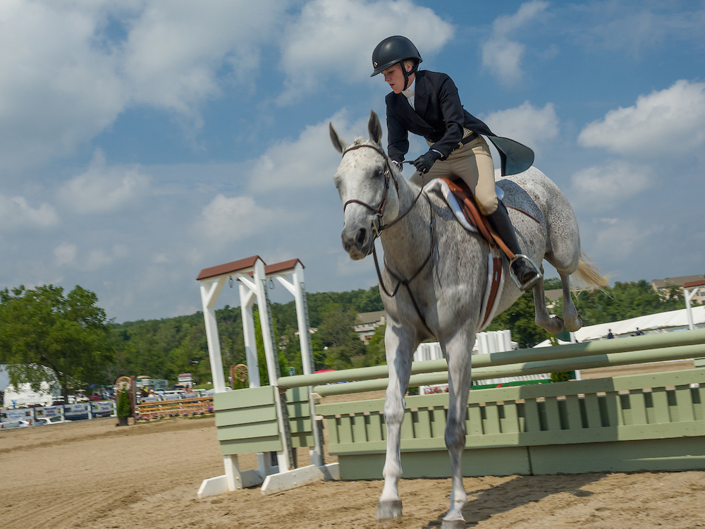 Hunter classes at Ludwig's Corner Horse Show