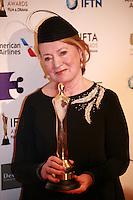 costume designer Joan Bergin at the IFTA Film & Drama Awards (The Irish Film & Television Academy) at the Mansion House in Dublin, Ireland, Saturday 9th April 2016. Photographer: Doreen Kennedy