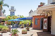Tourists at Seaport Village San Diego