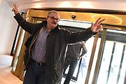 Romeo Meo Sacchetti<br /> Nazionale Italiana Maschile Senior - Arrivo al Ritiro di Torino<br /> FIP 2017<br /> Torino, 20/11/2017<br /> Foto M.Ceretti / Ciamillo-Castoria