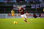 Northampton Town midfielder Alfie Potter during the Sky Bet League 2 match between Northampton Town and Yeovil Town at Sixfields Stadium, Northampton, England on 28 November 2015. Photo by Dennis Goodwin.