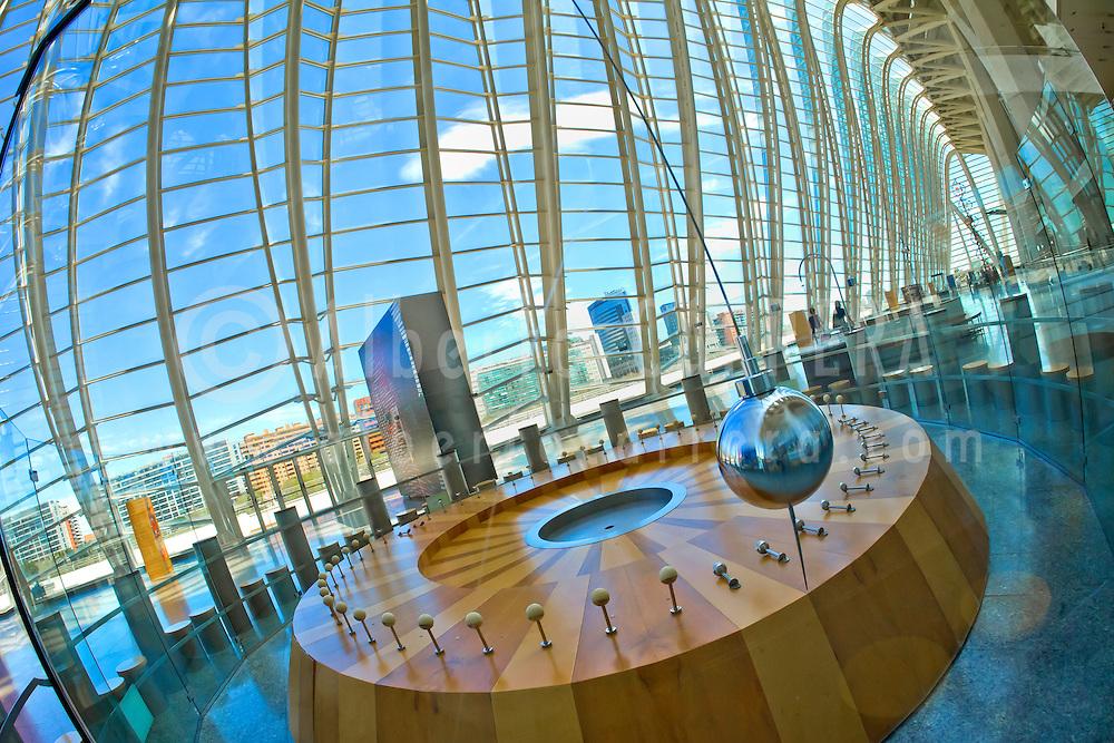 Alberto Carrera, Pr&iacute;ncipe Felipe Science Museum, City of Arts and Sciences, Valencia Comunity, Valencia, Spain, Europe<br /> <br /> EDITORIAL USE ONLY