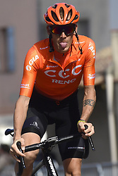 March 15, 2019 - Brignoles, France - BRIGNOLES, FRANCE - MARCH 15 : DE MARCHI Alessandro (ITA) of CCC TEAM pictured during stage 6 of the 2019 Paris - Nice cycling race with start in Peynier and finish in Brignoles  (176,5 km) on March 15, 2019 in Brignoles, France. (Credit Image: © Panoramic via ZUMA Press)