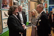 GREG DORAN, HANS RAUSING, JULIA RAUSING, CHRISTOPHER LE BRUN, 2019 Royal Academy Annual dinner, Piccadilly, London.  3 June 2019