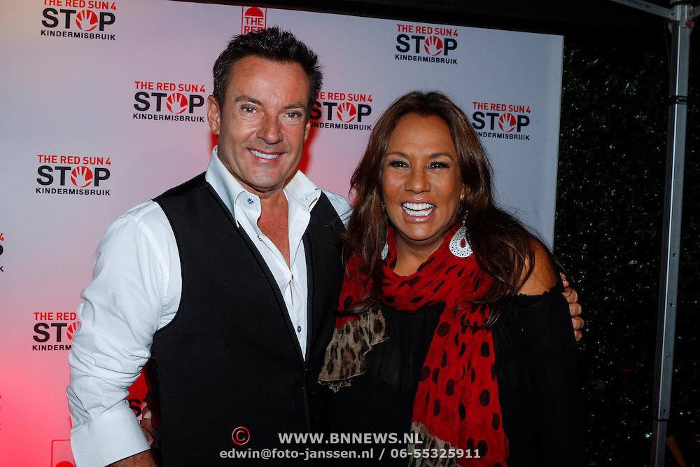 NLD/Blaricum/20121104 - Benefietavond The Red Sun Blaricum  t.b.v. Stop Kindermisbruik, Gerard Joling en Patty Brard