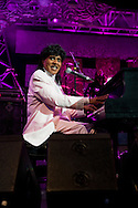 LAKE BUENA VISTA, FL - OCTOBER 17: Little Richard performs during the Eat to the Beat concert series in Epcot at Walt Disney World, in Lake Buena Vista, Florida, October 17, 2006. (Photo by Matt Stroshane/Getty Images)