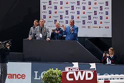 Philippaerts Ludo, BEL, Weinberg Peter, BEL, Devos Pieter, BEL, Philippaerts Nicola, BEL<br /> LONGINES FEI World Cup™ Finals Paris 2018<br /> © Hippo Foto - Dirk Caremans<br /> 13/04/2018