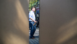 17.04.2019, Donaukanal, Wien, AUT, Die Grünen, Plakatpräsentation zur EU-Wahl. im Bild EU-Wahl-Spitzenkandidat und Grünen-Chef Werner Kogler // Topcandidate of the Greens for EU-elections Werner Kogler during placard presentation of the Green party for European Elections in Vienna, Austria on 2019/04/17. EXPA Pictures © 2019, PhotoCredit: EXPA/ Michael Gruber