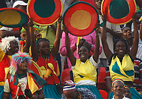 Photo: Steve Bond/Richard Lane Photography.<br /> Egypt v Cameroun. Africa Cup of Nations. 22/01/2008. Cameroon fans